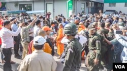 An overview of political commentator Kem Ley's fourth memorial, Phnom Penh, July 08, 2020. He was assassinated in broad daylight on July 10, 2016. (Khan Sokummono/VOA Khmer)