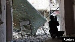 شام کا ایک باغی فوجی