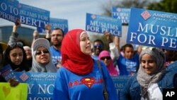 Protest američkih muslimana na Floridti tokom predizborne kampanje