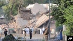 دھماکے سے سی آئی ڈی پولیس کی عمارت منہدم ہو گئی