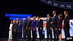 Le cinquième débat télévisé des démocrates est prévu ce mercredi soir à Atlanta, en Géorgie, et seuls dix candidats ont été sélectionnés.