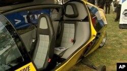 瑞士X-Tracer小组研制的一款以电池为动力的汽车在比赛中获奖
