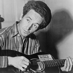 Woody Guthrie, 1912-1967: Singing the Songs of 'Dust Bowl Refugees'
