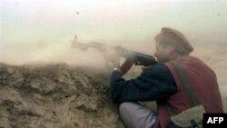 Бої в Афганістані.