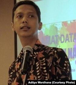 Direktur Eksekutif LSM Indonesia AIDS Coalition Aditya Wardhana. (Foto courtesy: Aditya Wardhana)