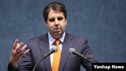 마크 리퍼트 주한 미국대사가 30일 서울에서 주한미국상공회의소가 주최한 오찬 간담회에 참석했다.