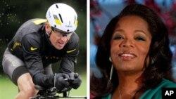 Lance Armstrong (kiri) diberitakan telah mengakui penggunaan doping dalam wawancaranya dengan Oprah Winfrey (foto: dok).