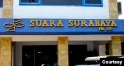 Kantor Radio Suara Surabaya. (Foto: Courtesy)