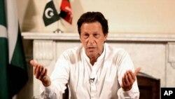 Le Premier ministre du Pakistan Imran Khan.