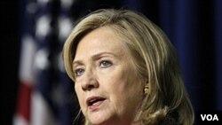 Menteri Luar Negeri Amerika, Hillary Clinton