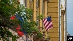 Američka ambasada u Moskvi (arhivski snimak)
