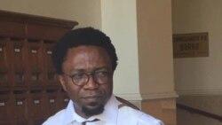 Patrice Nganang, écrivain joint par Yacouba Ouedraogo