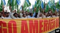 Manifestation anti-Obama au Pakistan