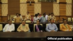NLD chairperson attends parliament