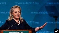 Sakatariyar harkokin wajen Amurka Hillary Rodham Clinton.