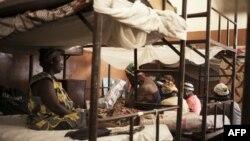 """Des femmes emprisonnés pour """"sorcellerie"""" à Bangui, le 2 février 2018."""