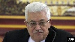 Palestinski predsednik Mahmud Abas na sastanku sa članovima PLO-a u Ramali, 2. oktobar 2010.