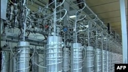 Centrifuge u iranskom nuklearnom pogonu