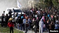 Евакуація цивільних з міста Гомс