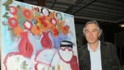 جایزه ٢٥ هزار دلاری «رابرت دونیروی پدر» برای بهترین نقاش آمریکا