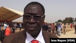 Pouahoulabou PK Victor, représentant de l'Union des familles des martyrs. (VOA/ Issa Napon)
