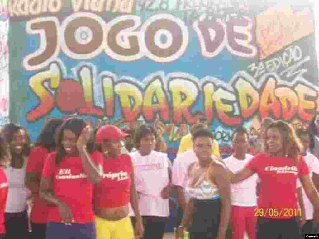 Jogos da Solidariedade, evento organizado para angariar fundos a lares de crianças como El-Betel, no Zango II e em Viana, e o Centro de Acolhimento Mãe Madalena, que acolhe mais de 30 crianças.