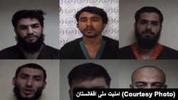 ISIS members captured in Afghanistan