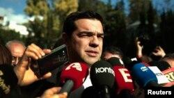 Aleksis Cipras, opozicioni lider i vodja radikalne levičarske stranke Siriza (arhivski snimak)