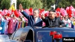 VOA连线(张蓉湘):韩国总统文在寅与朝鲜领导人金正恩第三次会面