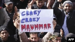 İran prezidenti Mahmud Əhmədinejad Liviyada baş verənləri qinayır