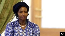 South African Minister of International Relations and Cooperation Maite Nkoana Mashabane
