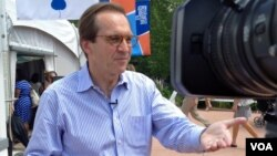 VOA mewawancara Direktur David Ensor pada Aspen Ideas Festival (30/6).