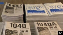 2010 tax forms
