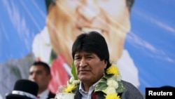 Evo Morales terminará su mandato de gobierno en enero de 2020