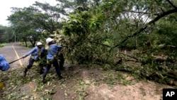 Las autoridades de Nicaragua han reiterado que los daños fueron menores a los esperados, ya que no hubo pérdidas humanas ni una situación catastrófica.