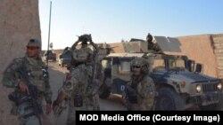 نظامیان افغان برخی مناطق را در هلمند تصرف کردند