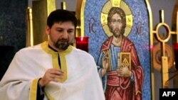 Aleksa Micić, sveštenik srpske pravoslavne crkve Sveti Luka