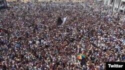 میران شاہ میں پی ٹی ایم کی ریلی