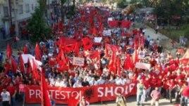 Shkup, protestë lidhur me ngjarjet në Kumanovë