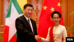 China Myanmar Ink Dozens of Agreements during Xi's Visit
