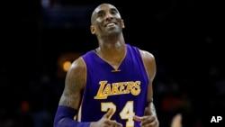 Kobe Bryant, l'ancien joueur des Los Angeles, 1er décembre 2015.