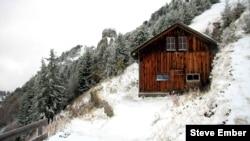눈 덮인 스위스 알프스산 (자료사진)