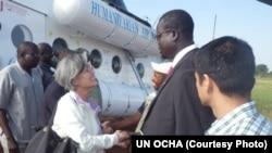 Top UN Official Visits South Sudan
