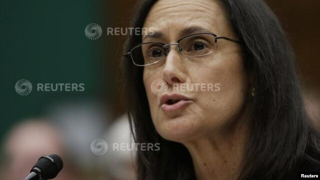 Attorney General for the State of Illinois Lisa Madigan testifies before the House Energy and Commerce Subcommittee on protecting consumer information in Washington February 5, 2014.