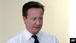Cameron oo ka Hadlay Shirka London