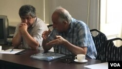 Mehman Əliyev və Əvəz Zeynallı
