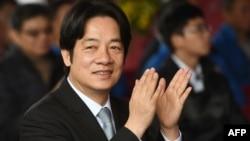 台湾前行政院长赖清德(2018年4月17日资料照片)