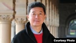 美籍华裔知名物理学家兼风险投资人张首晟(资料照片)