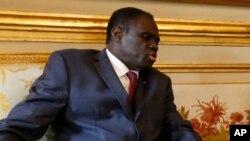Michel Kafando, le president de la transition au Burkina