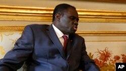 Michel Kafando, le président de la transition au Burkina Faso